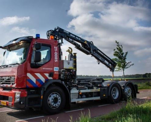 Brandweer Brabant Noord Bofram Atlas autolaadkraan